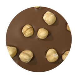 Milk Chocolate with Hazelnuts Cake